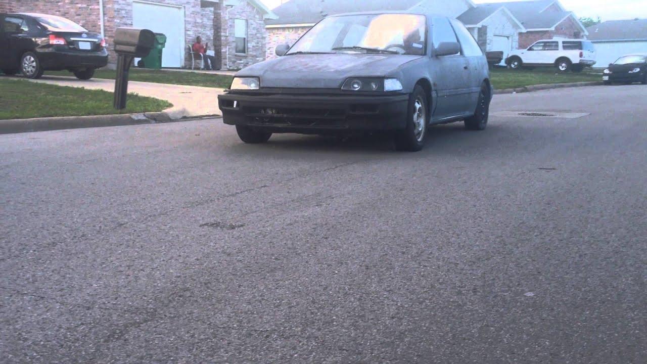 1988 Honda Civic Hatchback