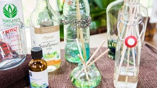 Home & Family - How to Make Non-Toxic Fragrance Diffuser Sticks