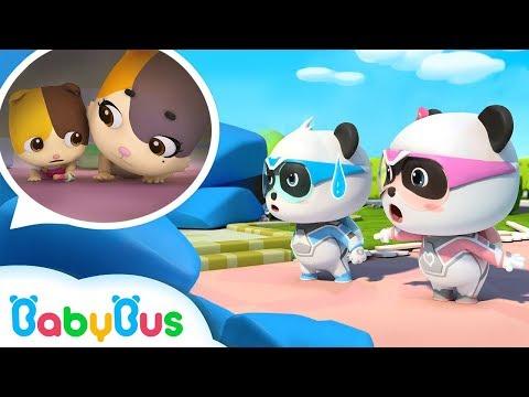 bayi-panda-&-tim-penyelamat-super- -lagu-edukasi-gempa-bumi- -babybus-bahasa-indonesia
