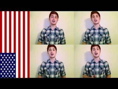 Star Spangled Banner -- One Man Quartet