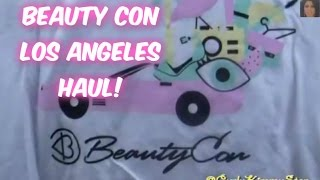 HAUL! Beauty Con LA 2014 | CurlyKimmyStar Thumbnail