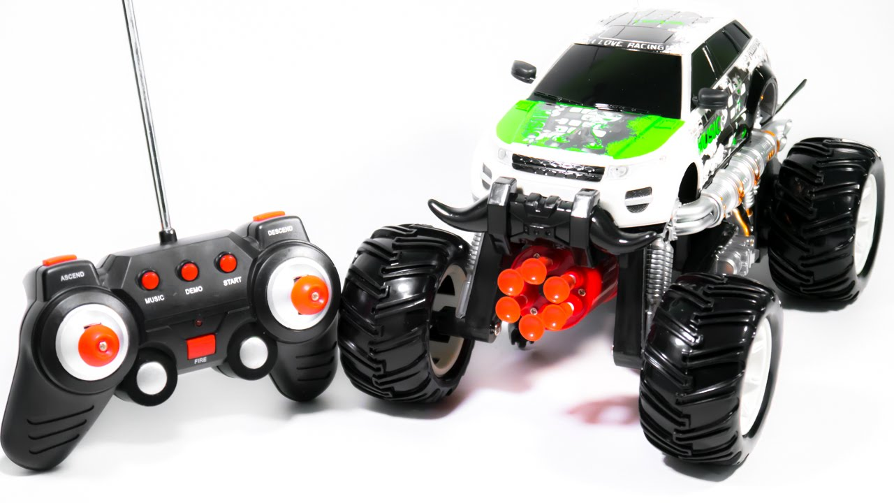 Cool Toys Monster Truck Car On The Radio Control Video For