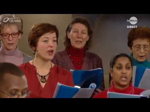 Messe télévisée du 29 janvier  2017 à l'abbaye de Maredsous. Production RTBF