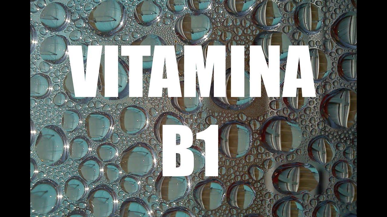 Vitamina b1 tiamina import ncia benef cios e alimentos ricos youtube - Alimentos ricos en b1 ...