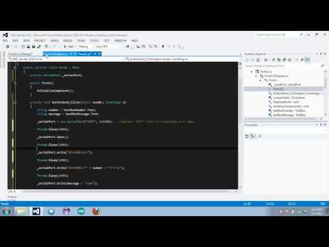 C# Programming: Sending SMS using AT Commands