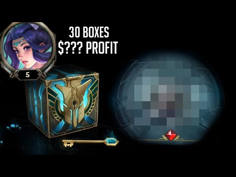 I spent $50 on a new account to see if I can profit with Hextech crates...