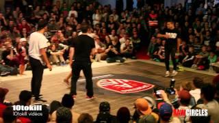 Raw Circles 2013 - 8Final - Tim & Nono (FRA) Vs Lukas & Klesio (BRA)