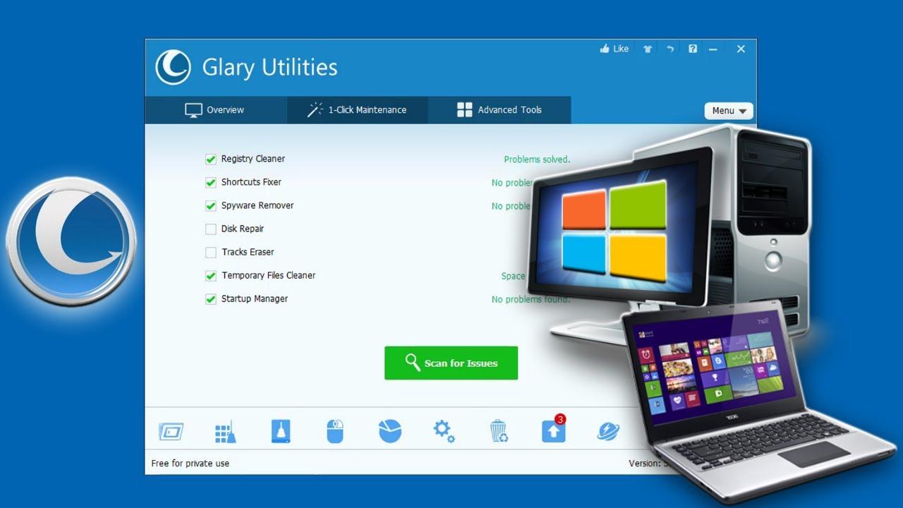 Glary Utilities Pro 5.163.0.189 Crack + Keygen 2021 Torrent Serial Key