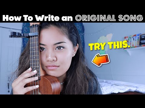 How To Write An ORIGINAL Song in 12 MINUTES!