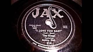 The Kings f Bobby Hall -  I Love My Baby 78 rpm!