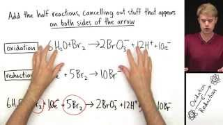 Balance Redox Equations in Acid Example 2 (Advanced)