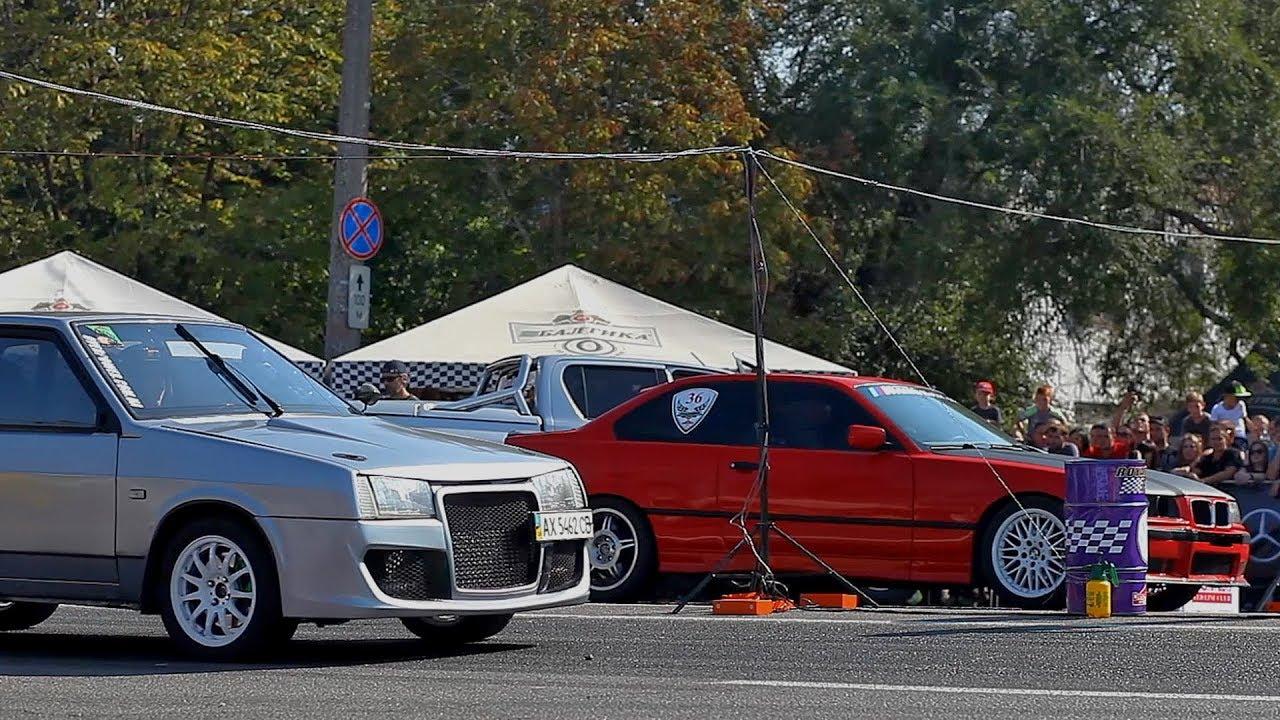 ВАЗ 2109 Турбо vs BMW M3 E36 Turbo