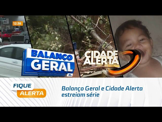 Balanço Geral e Cidade Alerta estreiam série sobre o problema recorrente das chuvas
