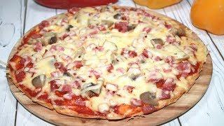 Самая Вкусная Пицца на Сковороде. Идеальное Тесто