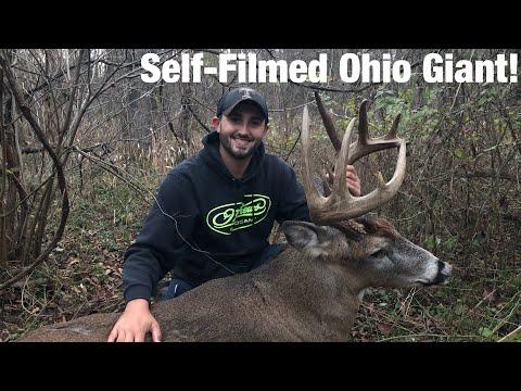 "Self-Filmed 152"" Ohio Public Land Giant Bow Hunt"
