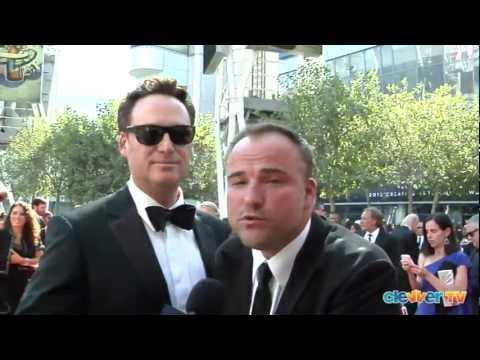 "Todd J Greenwald & David Deluise Talk ""Wizards"" at the Creative Arts Emmys"