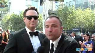 todd j greenwald david deluise talk wizards at the creative arts emmys