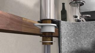 Как установить смеситель для кухни Hansgrohe(Монтаж смесителя для кухни Hansgrohe., 2016-10-29T11:37:02.000Z)
