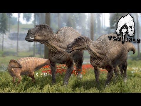 A Dinosaur Family!  - The Isle