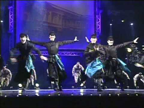 The Georgian dances 2. Ensemble ERISIONI