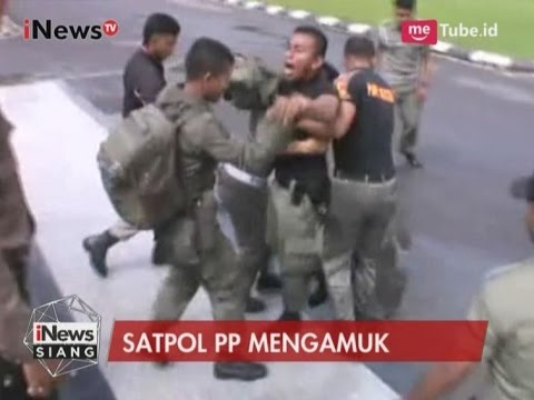Satpol PP Ngamuk di Kantor Gubernur Terkait Penahanan Gaji Selama 4 Bulan - iNews Siang 10/05