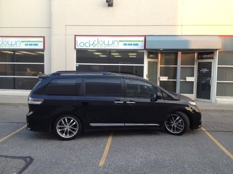 2013 Toyota Sienna Alpine Perfect Fit Installation Kit