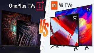 OnePlus TV vs Mi TV   Best Smart TV 2020 India   OnePlus TV Buy or not