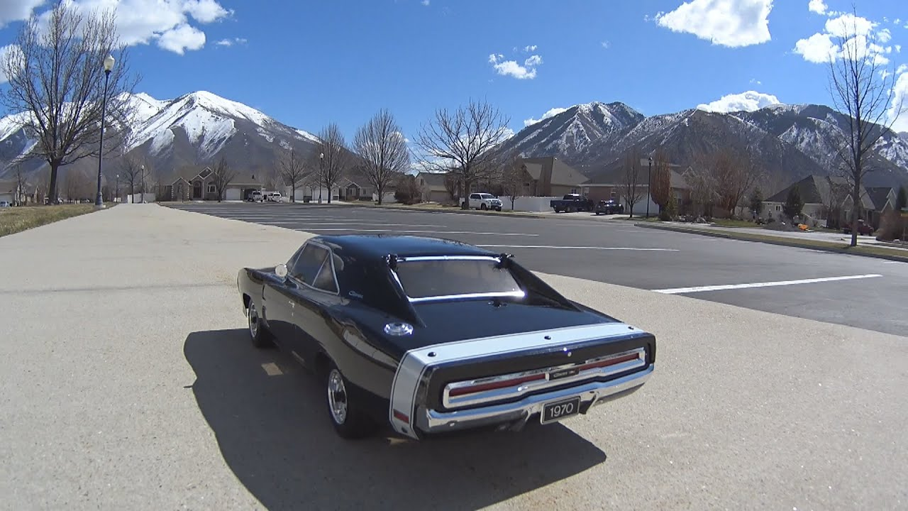 Rc Addiction - Kyosho 70 Dodge Charger 70' Style With