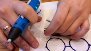 Как рисовать 3D ручкой объемные фигуры.(Даже если Вы плохо рисуете, рисовать объемные фигуры очень просто. Напечатайте на любом принтере контуры..., 2017-01-11T05:53:54.000Z)