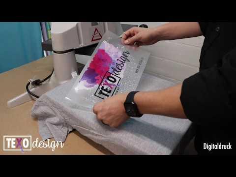 Was ist ein Digitaldruck (Textildruck)?
