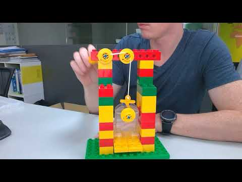 LEGO Early SImple Machines - Elevator Build
