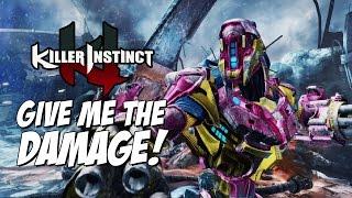 GIVE ME THE DAMAGE! : Kilgore Week Of! Part 4 - Killer Instinct 2017 Online Matches