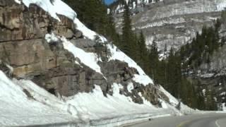 Four Corner Monument, Durango silvertone train, Telluridem Ouray Canyon Falls, Colorado