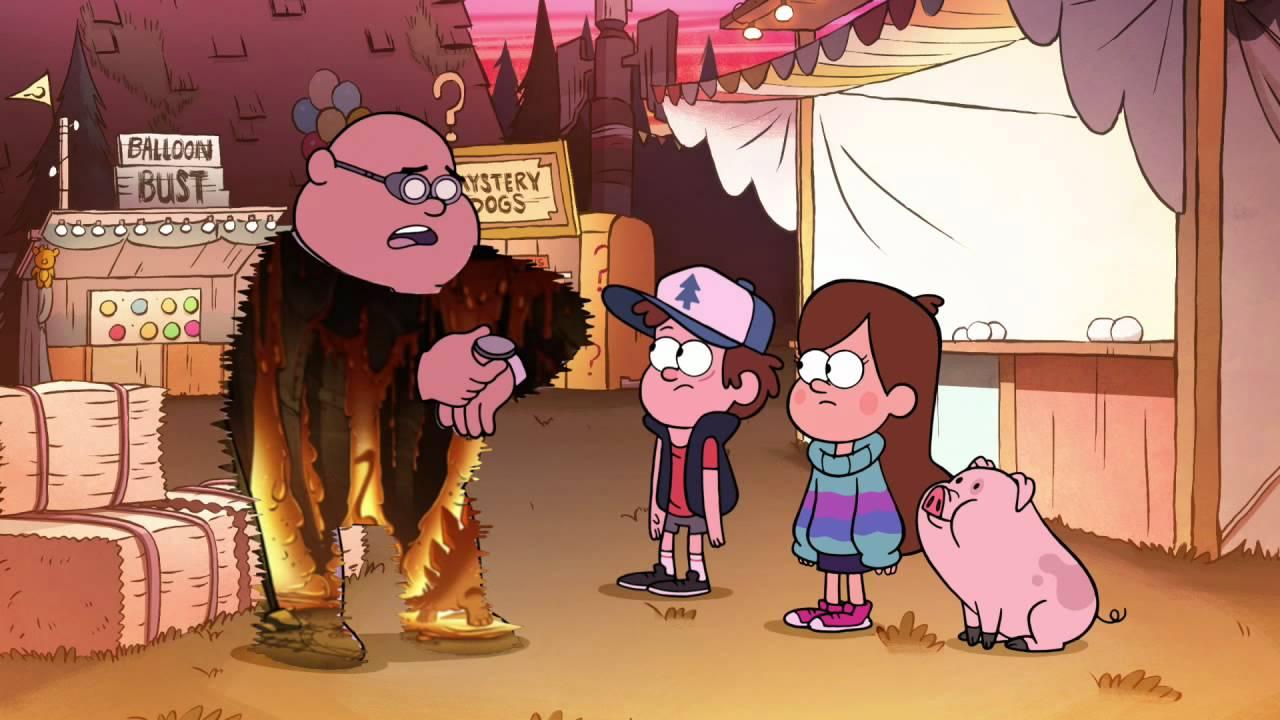 Gravity Falls Time Traveler S Pig