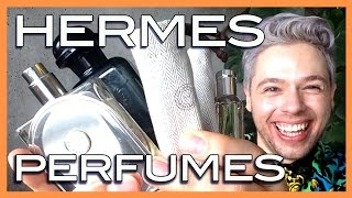 HERMES perfume selection A selection of my favorite HERMES perfumes...