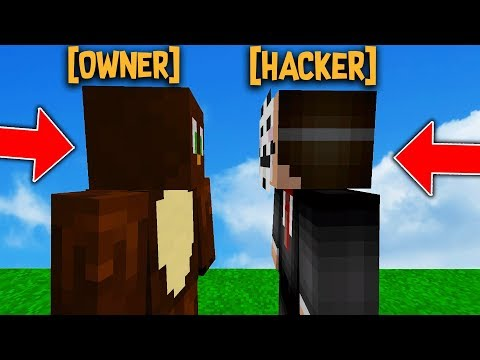 OWNER TELEPORTS INFRONT OF HACKERS TO SCARE THEM...
