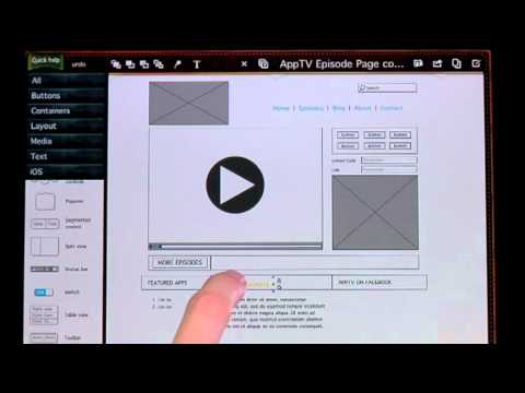 Create an app or website mockup on the ipad with sketchypad youtube create an app or website mockup on the ipad with sketchypad malvernweather Images