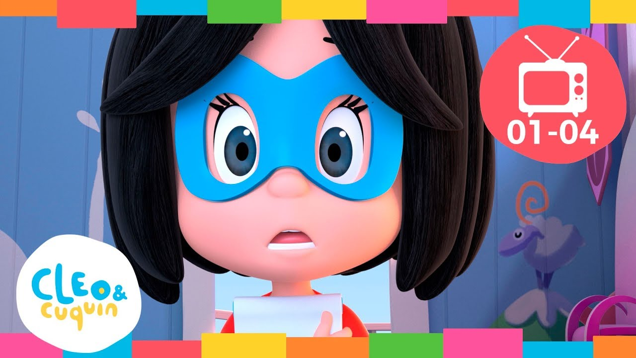 Download Episode Collection (Ep 1- 4) - Full Episodes of Cleo and Cuquin | Cartoon For Children