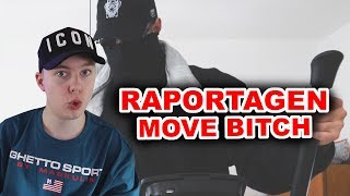 Raportagen - Move Bitch (prod. by Black Rose Beatz) REACTION/ANALYSE
