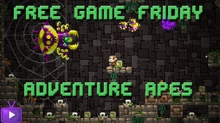 Free Game Friday Adventure Apes and The Mayan Escape - Indie Metroidvania(comp is closed)
