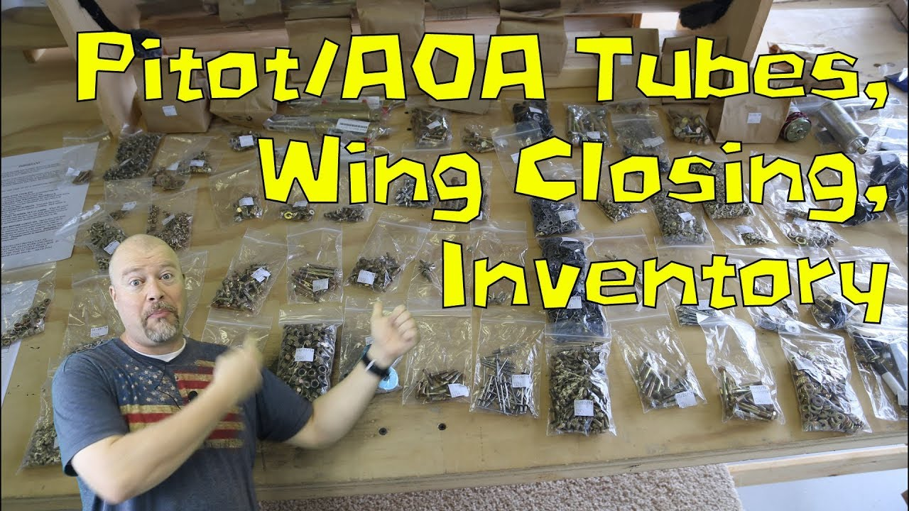 rv-10 wings - 060 - wing wiring, pitot tubes, aoa indicator