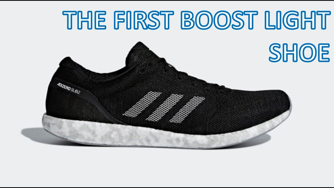 low priced 28965 ae9b9 REVIEW - NEW BOOST LIGHT! - Adizero Sub 2