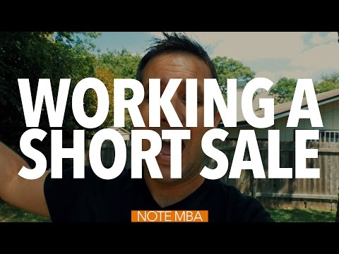 Working A Short Sale