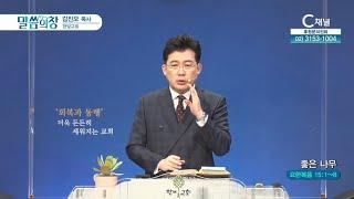 한빛교회 김진오 목사 - 좋은 나무