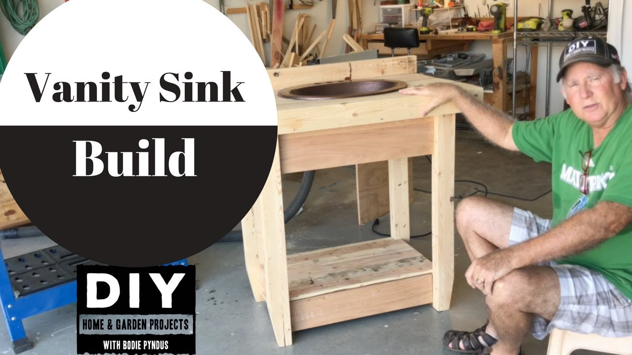 Rustic Bath Vanity Build Youtube