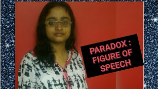 PARADOX | THE FIGURE OF SPEECH | IN HINDI |