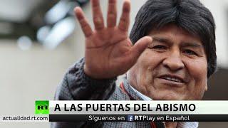 Evo Morales anuncia su partida a México