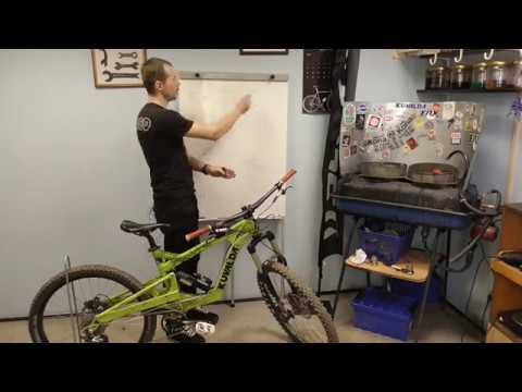 Как отрегулировать вилку и подвеску велосипеда.