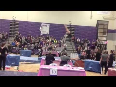 uw whitewater gymnastics meet score