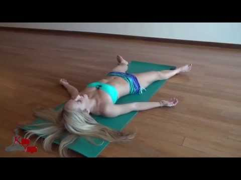 How To Yoga Stretches for Low Back Pain Sciatica Relief by Jen Hilman from YouTube · Duration:  14 minutes 4 seconds